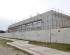 GINÁSIO MUNICIPAL : Obras do complexo poliesportivo avançam