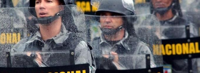 Governador pede apoio da Força Nacional de Segurança