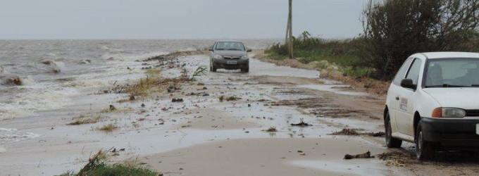 Defesa Civil monitora áreas de risco de inundação