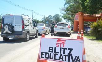 BLITZ E PALESTRAS : Pelotas integra atividades da Semana Nacional do Trânsito
