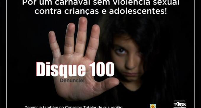 Campanha incentiva denúncia para combater abuso sexual de crianças