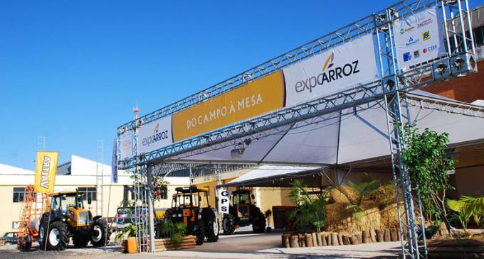 Cidade é palco da Expoarroz Tech 2019