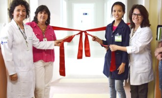 Hospital Escola inaugura nova área da Pediatria