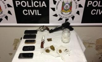 Operação da Polícia Civil combate o tráfico