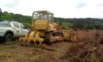 PATRAM combate desmatamento no Monte Bonito