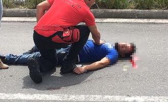 SHOPPING : PM baleado em assalto à joalheria