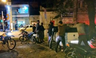 Órgãos de Segurança fazem ação  pelo sossego público na madrugada