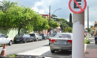 Estacionamento no corredor de ônibus da Osório é proibido