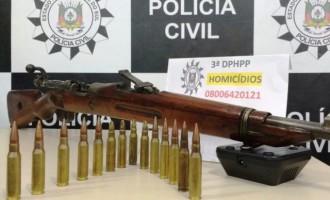 Polícia recupera fuzil do Exército Brasileiro