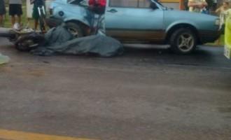 ACIDENTE : Motociclista morre na BR-293