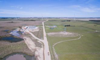 SANTA VITÓRIA DO PALMAR : Complexo eólico terá reforço de financiamento do BRDE