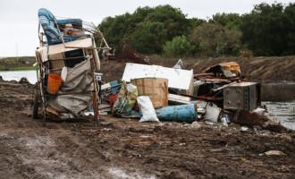 Sanep conclui primeira etapa da limpeza no canal do Pântano