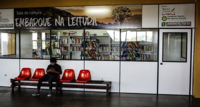 """RODOVIÁRIA : Inaugurado o projeto """"Embarque na Leitura"""""""