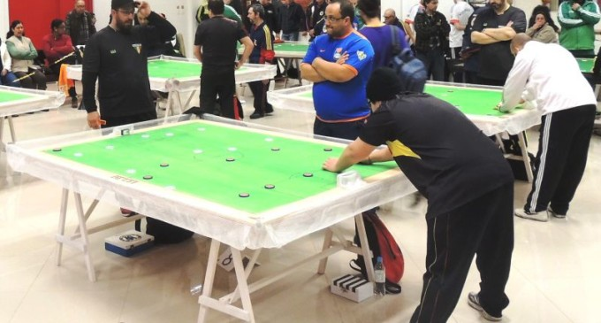 FUTEBOL DE MESA : Treze equipes disputam estadual no COP