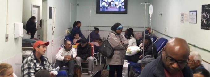 PRONTO SOCORRO : Idosos demoram conseguir vagas na rede hospitalar