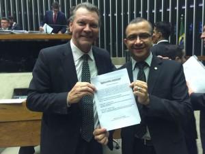 Presidente da Frente Parlamentar em defesa da conclusão da BR-116 na Câmara Federal, o deputado Afonso Hamm comemorou a decisão