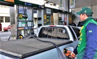 Preço da gasolina tem variação de 8,39% nos postos locais