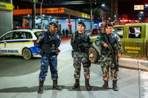 Brigada e Guarda Municipal trabalham juntas em diversas operações