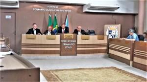 CÂMARA recebeu gestores que explanaram sobre proposta da administração