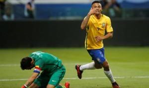 Gabriel Jesus marca duas vezes na vitória do Brasil: Chile fica fora da Copa do Mundo