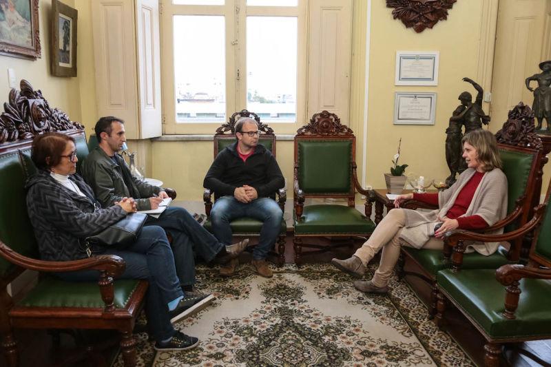 A medida foi anunciada em reunião com o Sindicato dos Municipários. Foto: Ascom