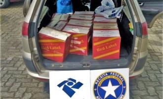 Receita Federal aborda veículo com carga de bebidas avaliadas em quase R$12 mil