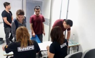Susepe empossa novos agentes e inicia curso de formação
