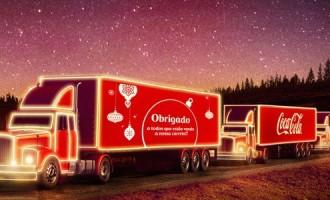 Caravana Iluminada da Coca-Cola leva magia do Natal a Pelotas