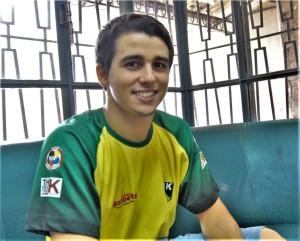 Fernando Moraes dá passo inicial para disputar Jogos Olímpicos de 2020