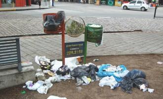 Coleta de lixo será diferenciada na área central