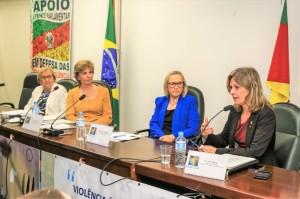 Paula destacou o comprometimento e a compreensão da deputada federal Yeda Crusius com o tema da segurança pública