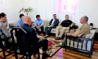 Brigada sedia reunião da Open Society Foundation