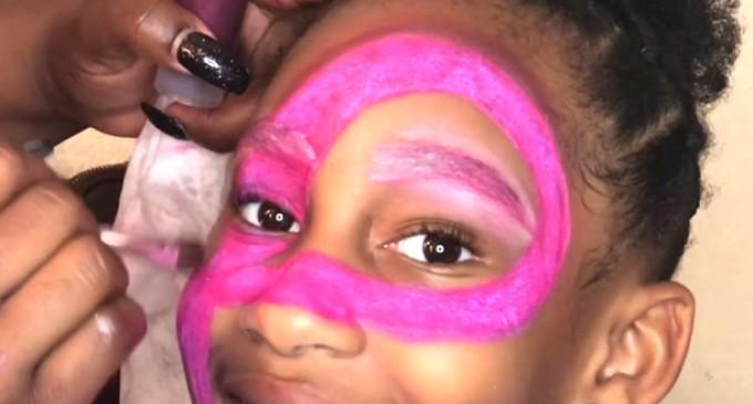 Médicos alertam para cuidados com maquiagem em crianças durante o Carnaval