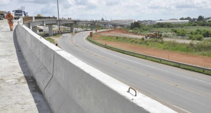 Contorno de Pelotas tem pontos de alteração de tráfego de veículos
