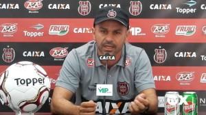João Goulart destaca a entrega dos jogadores na compra da ideia: não houve ausência por lesão Foto: Assessoria GEB