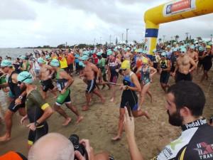 Centenas de atletas devem participar da disputa nas modalidades de natação, ciclismo e corrida