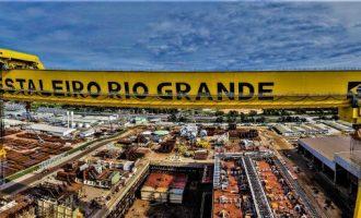 RETOMADA DA ECONOMIA :  Estaleiro Rio Grande investe na diversificação de atividades