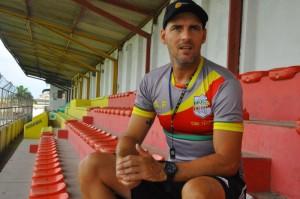 Olhando para o futuro: treinador espera colocar Farroupilha no Acesso Foto: Gabriel Xavier/AI GAF