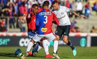 SÉRIE A : Grêmio é pouco objetivo no Paraná