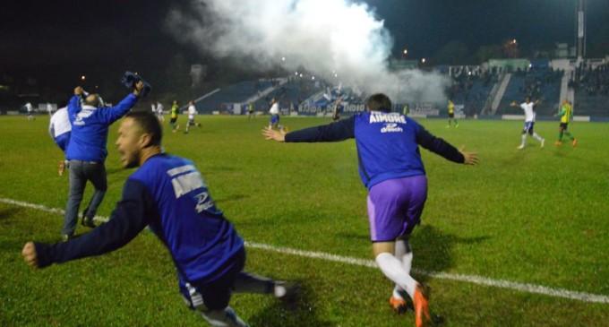Aimoré está de volta à Série A do futebol gaúcho