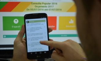 Consulta Popular 2020 terá 96 projetos para votação