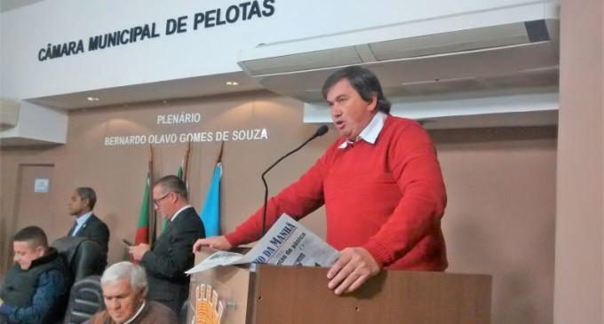 Vereador Eder Blank pede emenda em projeto estadual