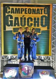 Atletas da Top Brother ganham medalhas no Campeonato Gaúcho