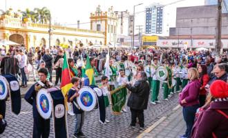 Balada das Bandas animou o Centro Histórico