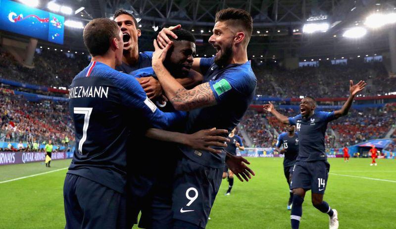 França vence a Bélgica e espera pelo vencedor de Croácia e Inglaterra para decidir o título da Copa da Rússia