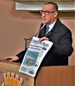 VEREADOR Marcola preside a Comissão na Câmara