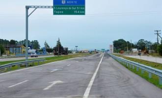 DNIT libera trecho duplicado da BR-116, em Pelotas