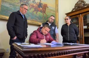 ATO na Presidência da Câmara sancionou lei aprovada em julho