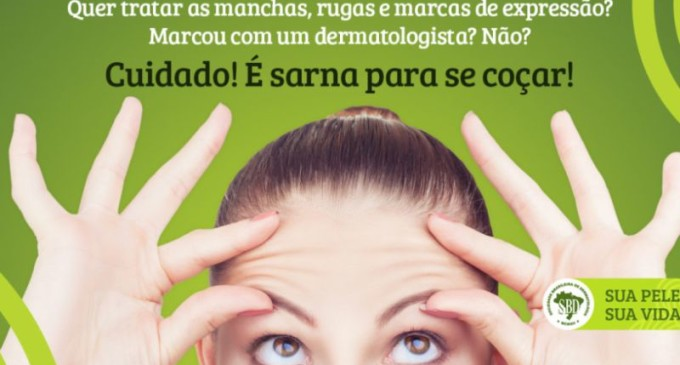 Campanha destaca papel do dermatologista
