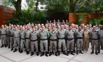 Encontro de comandantes reforça ações de integração da Brigada
